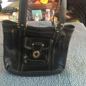 Coach Leather Tote/Purse